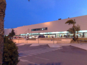 El Altet flyplass Alicante