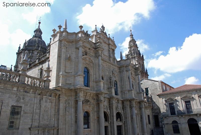 Katedralen i Santiago de Compostela.