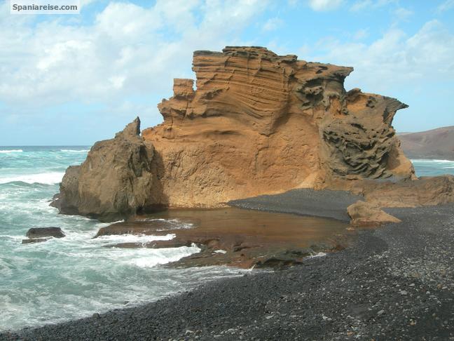 Vulkanlandskap Lanzarote
