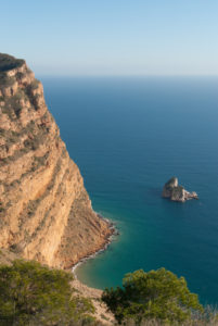 Den fantastiske naturparken, Parque Natural Sierra Helada ligger i Alfaz del Pi og strekker seg over et stort område.