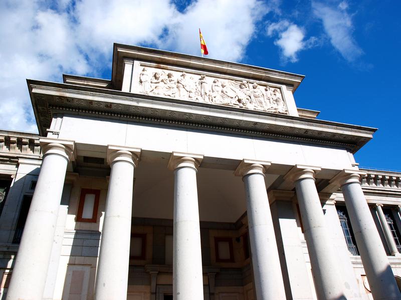 Bildet er fra Prado Museum i Madrid.