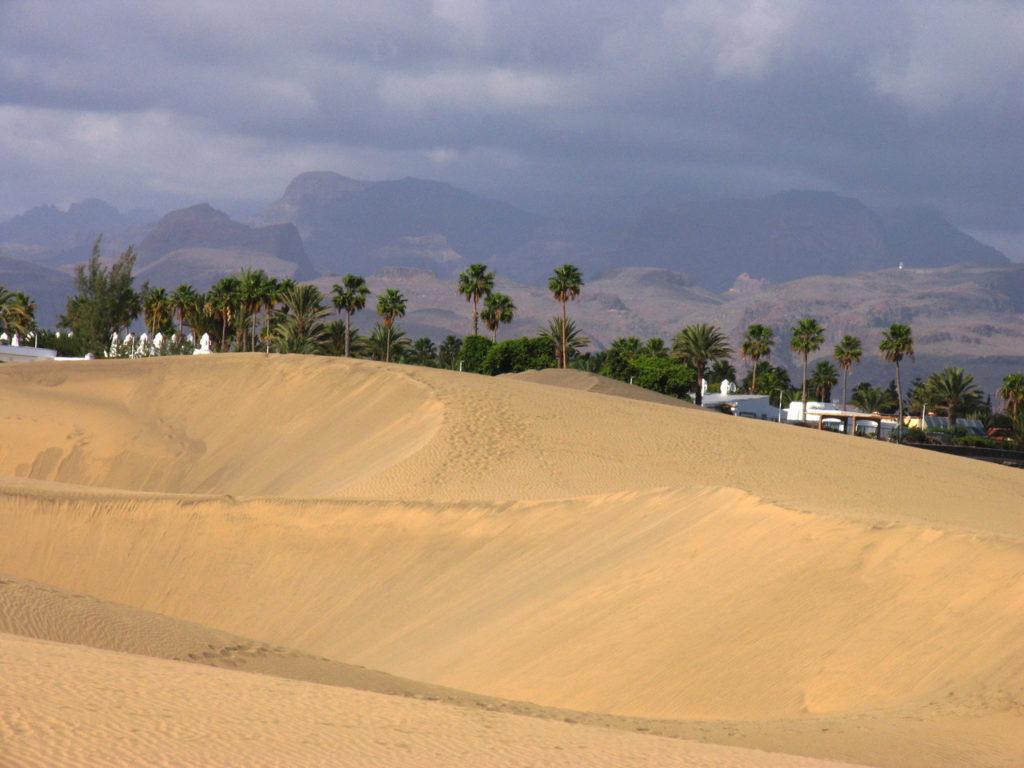Ørkenen i Maspalomas.