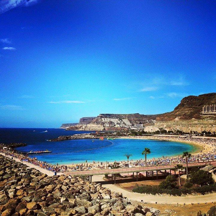 Den fantastiske Amadores-stranden