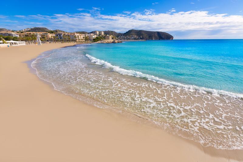 Playa la Ampolla, Moraira