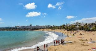 Costa Teguise sin Playa de las Cucharas strand